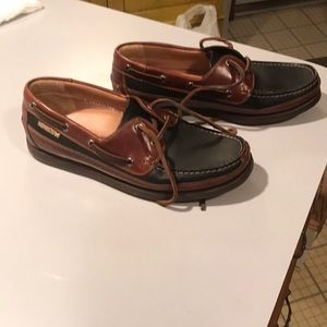 Mephisto Spinnaker mens boat shoes size 8